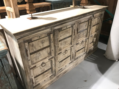 Wooden Sideboard with Doors