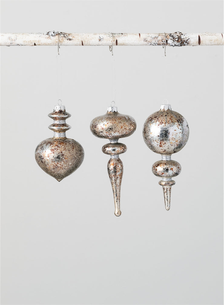 Glass Finial Ornament