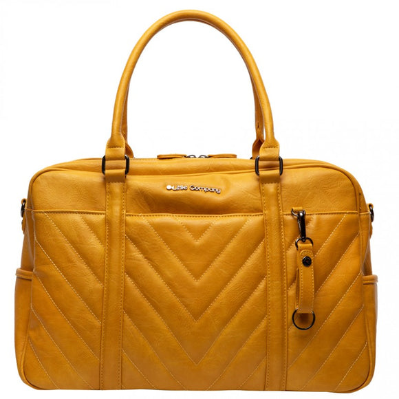 Changing bag Amsterdam Ocher Little Company