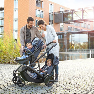 Stroller for Twins or not Duett 3 Hauck