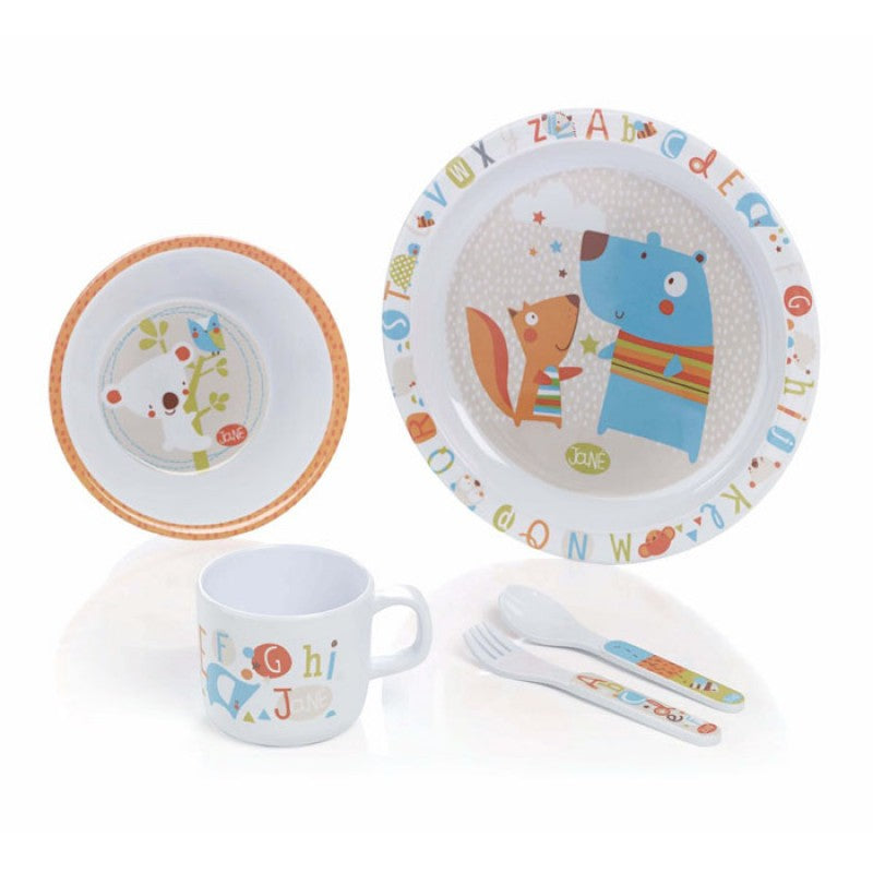 Crockery set 5 pieces Jane