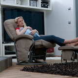 Breastfeeding Chair Rotate Hauck Black