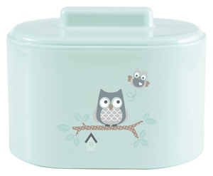 Case for Swabs BebeJou Owl Family