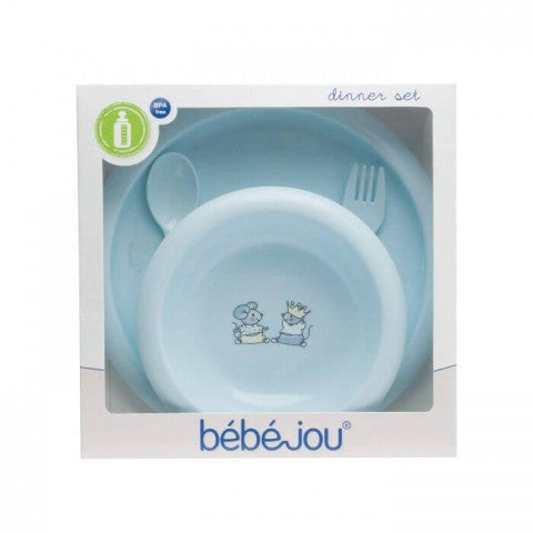 Set food BebeJou (4 pcs.) Little Mice-Utensils-mamacita-cy.com-krevatakia-brefika-kypros-domatio-koynia-karkoloua