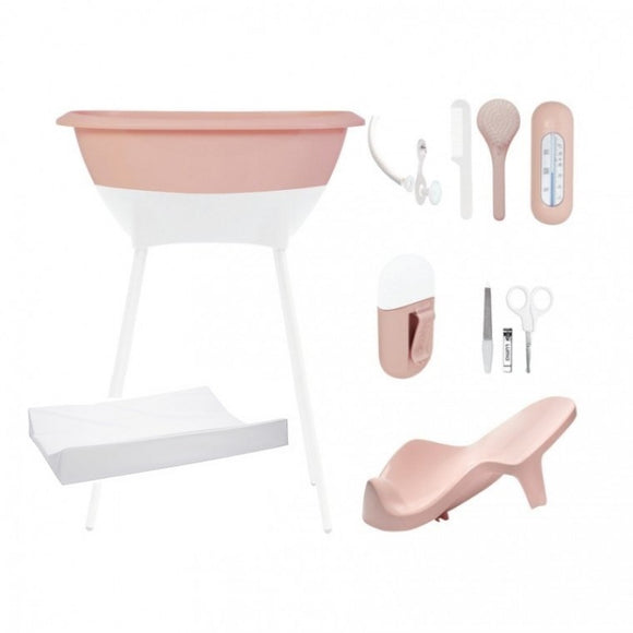Bath and care set Luma Pink