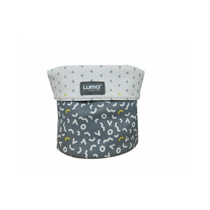 Nursery basket Luma Memphis Grey