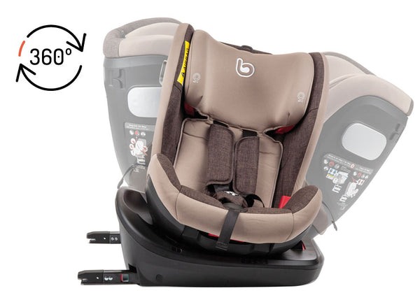 Child car seat Becool Pivot Isofix 0-36 kg Vegetal
