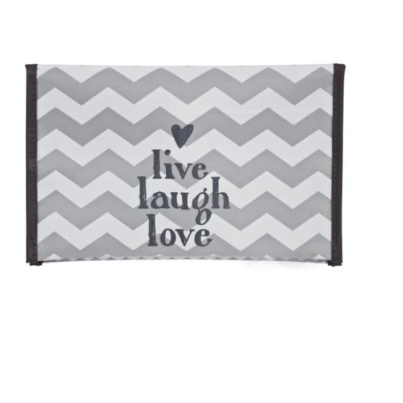 Baby wipes case Chevron Grey BebeJou