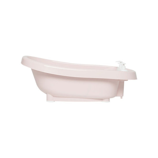 Bath with built-in thermometer BebeJou SET with Bath stand Rose
