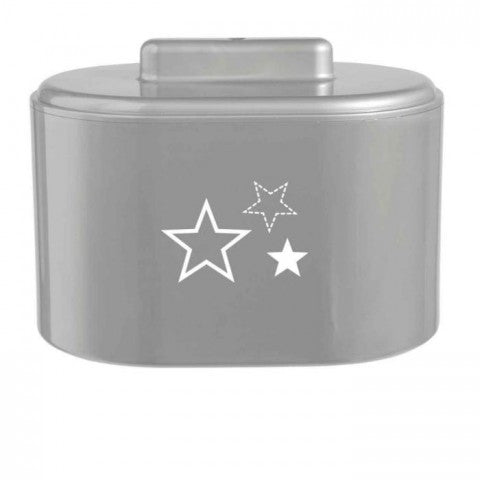 Case for Swabs BebeJou Silver Stars