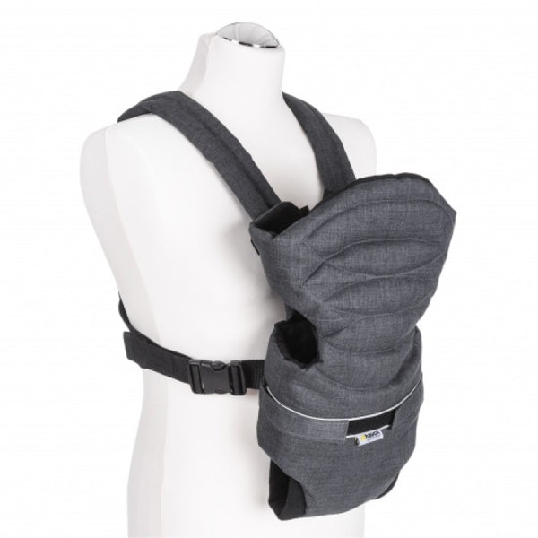 2 Way Carrier Black Hauck