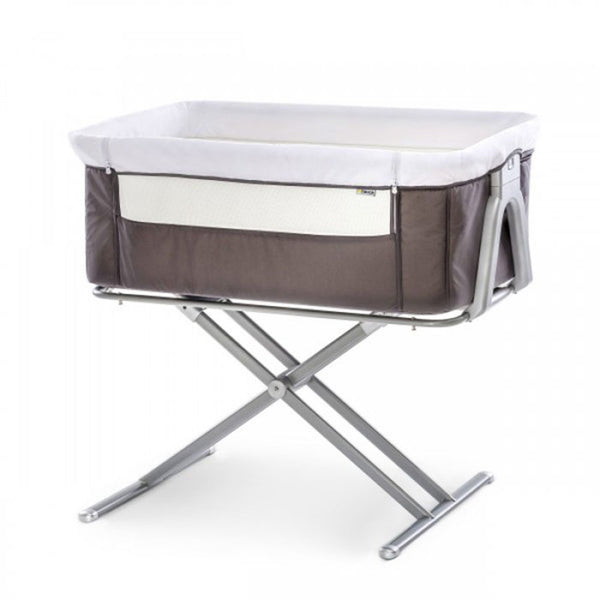 Bedside Cot Face to Me Hauck Grey
