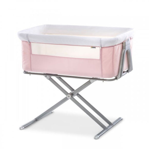 Bedside Cot Face to Me Hauck Pink