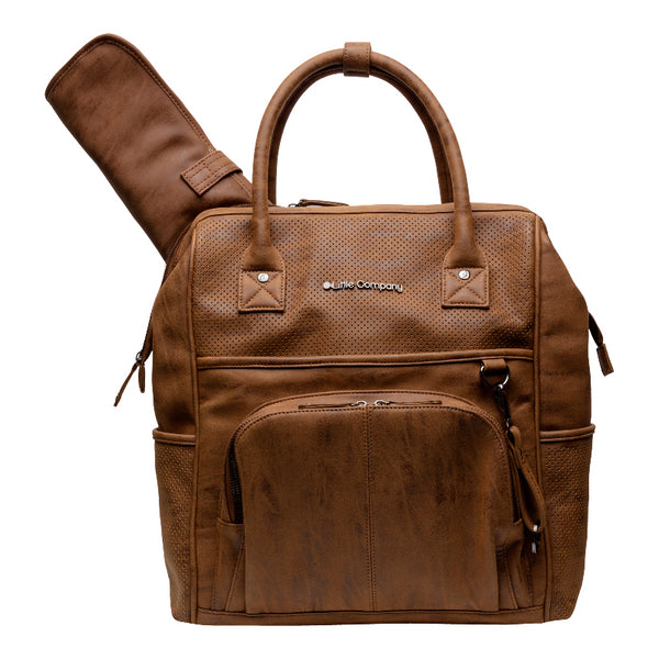 Changing bag Riga Brown Little Company