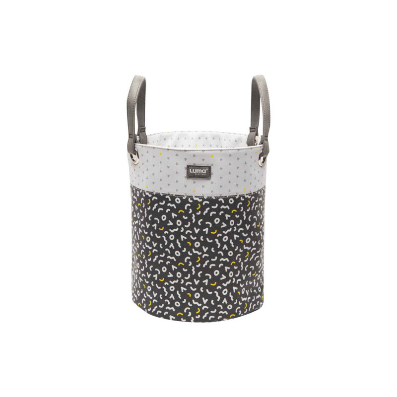 Toy Basket Luma L Memphis Grey