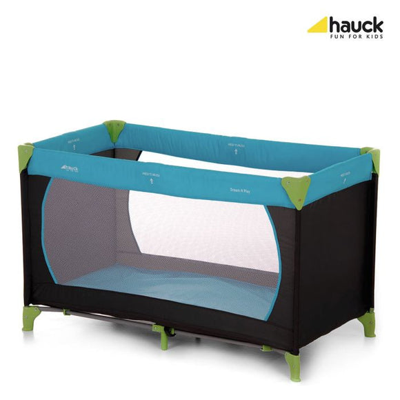 Playpen Dream N'Play Plus Waterblue Hauck-Playpen-Hauck-mamacita-cy.com-Parka_Kypros-Parkokrevato_Kypros-παρκοκρεβατο_κΥΠΡΟΣ-PLAYPEN_cYPrus-krevati_paidiko