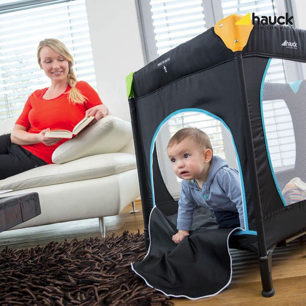 Playpen Sleep'n Play Center The original Multicolor Black Hauck