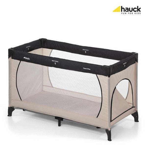 Playpen Dream N' Play Plus Beige Grey Hauck