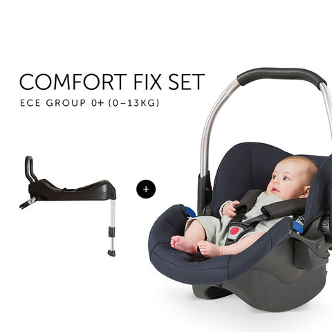 Car seat Hauck Comfort Fix 0 - 13 kg Black Set with Isofix base