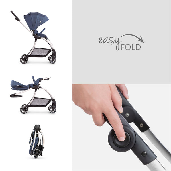 City Stroller Hauck Eagle 4S Denim grey