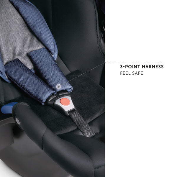 Car seat Hauck Comfort Fix 0 - 13 kg Denim Grey