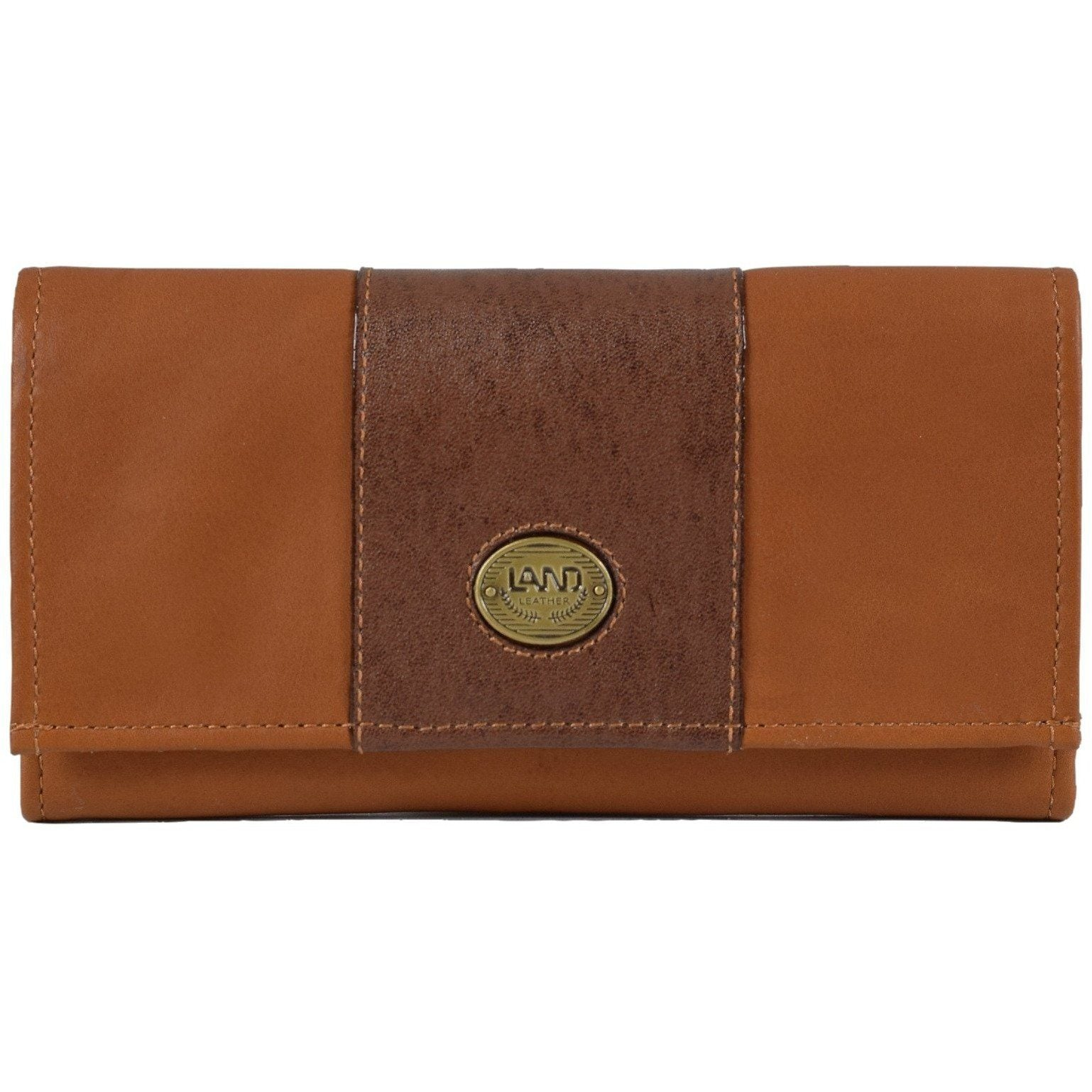 Santa Fe Ladies Checkbook Organizer, Wallet | LAND Leather