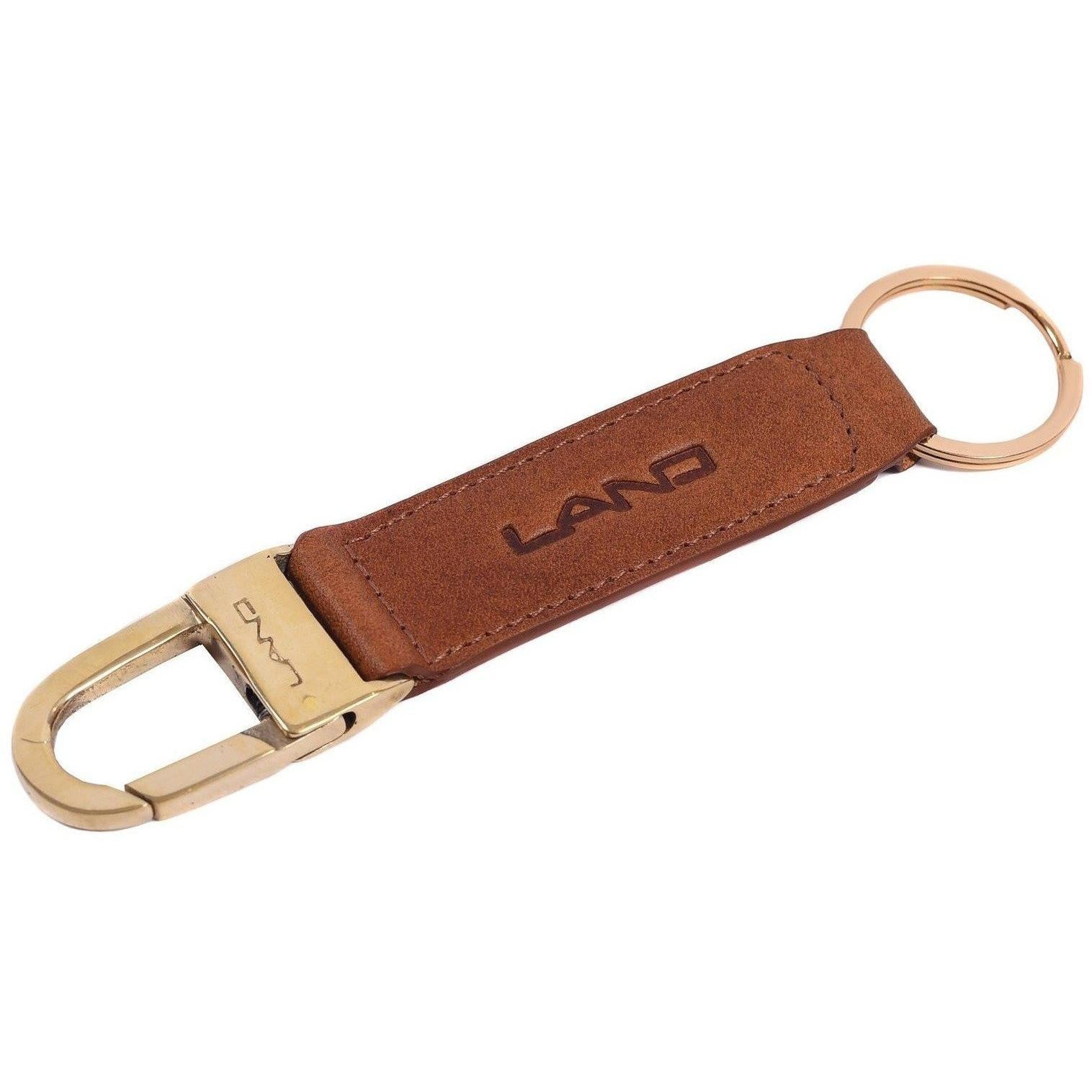 Limited Key Ring, Key Ring | LAND Leather