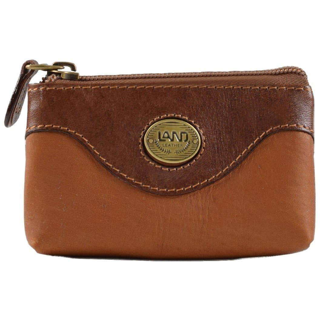 Santa Fe Zippered Coin Case, Wallet | LAND Leather