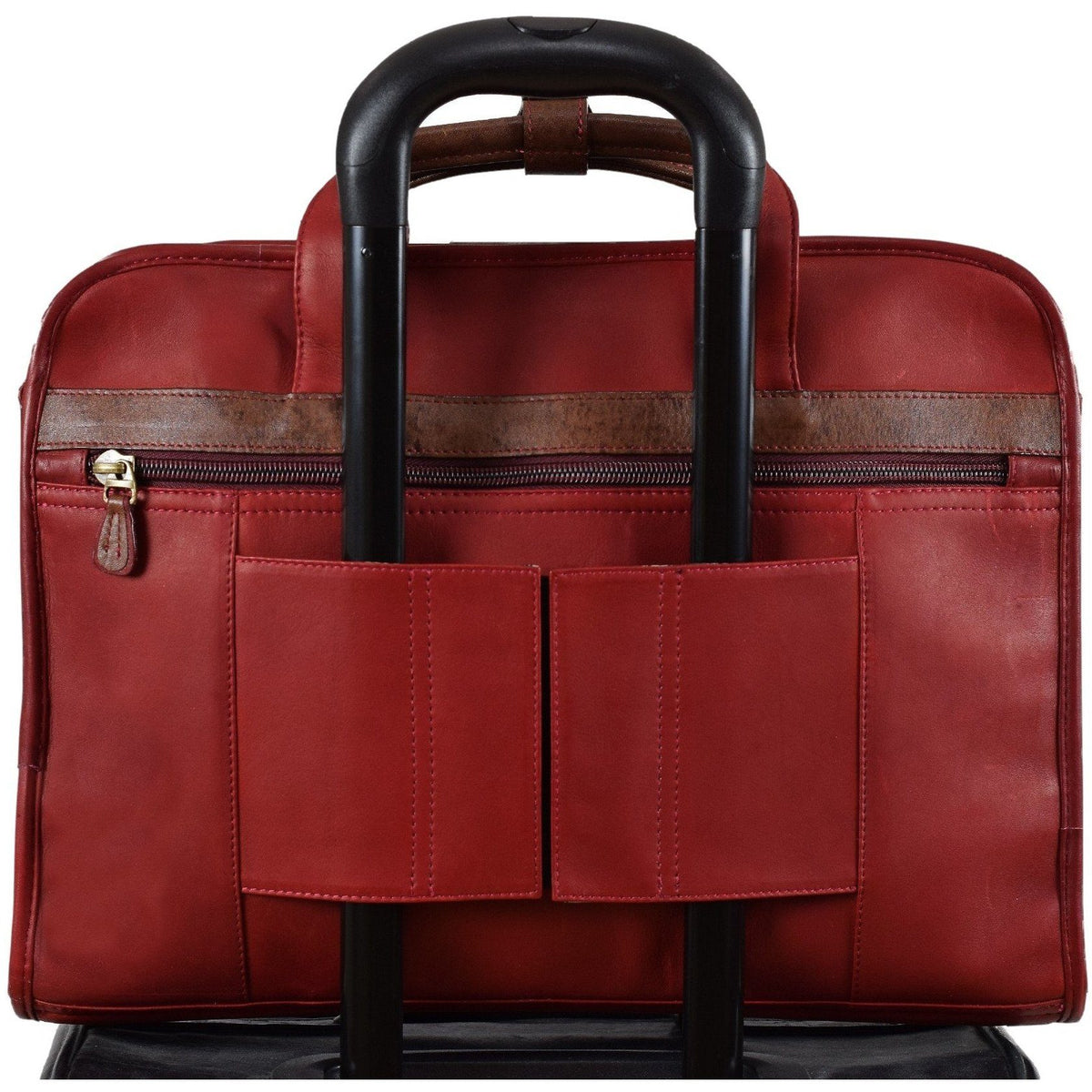 Anniversary Slim Day Brief, Briefcase | LAND Leather
