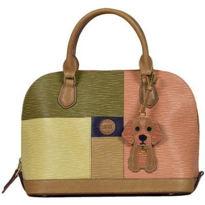 Longrain Penelope Satchel, Handbag | LAND Leather