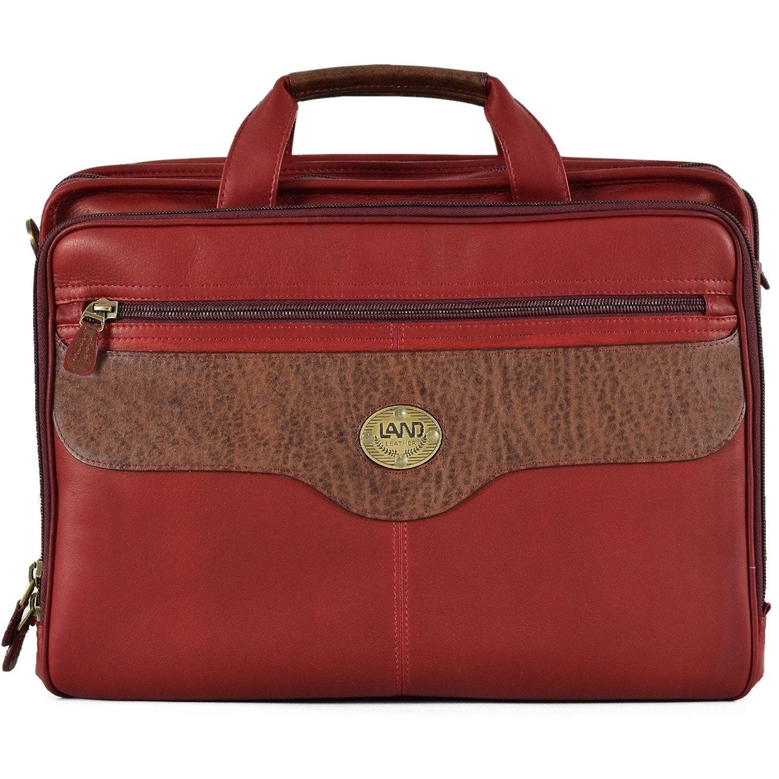 Anniversary Traveler Briefcase, Briefcase | LAND Leather