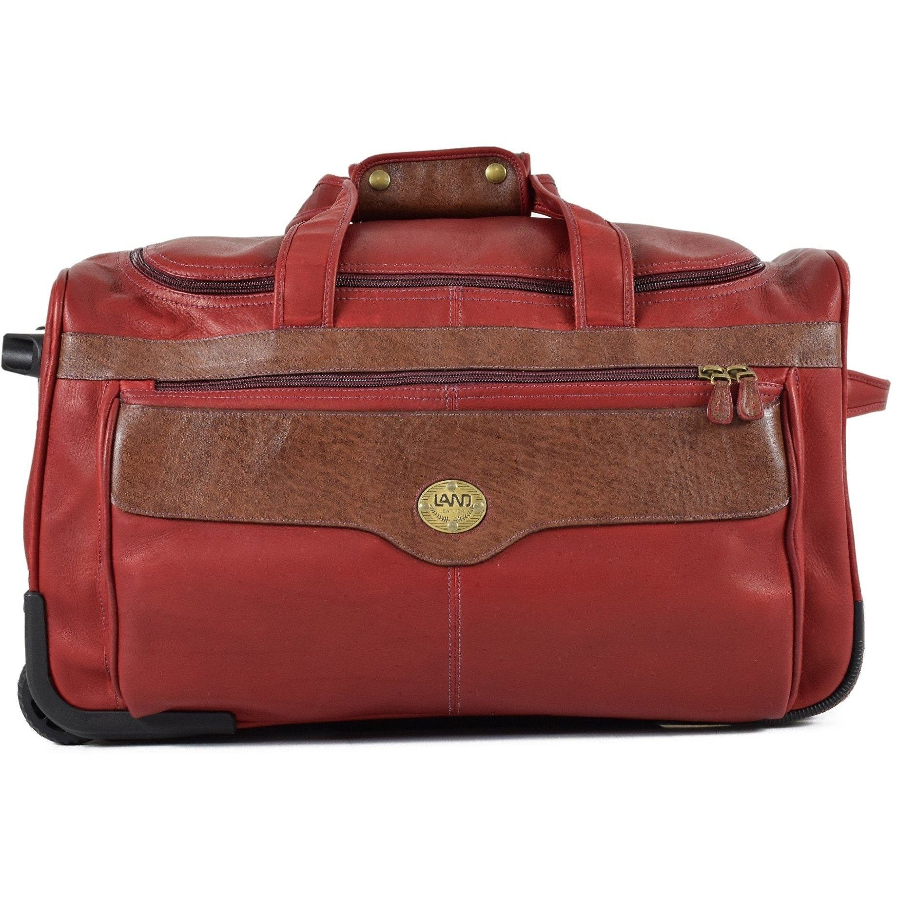 Anniversary Wheeled Duffel Bag // Backordered, Duffel Bag | LAND Leather