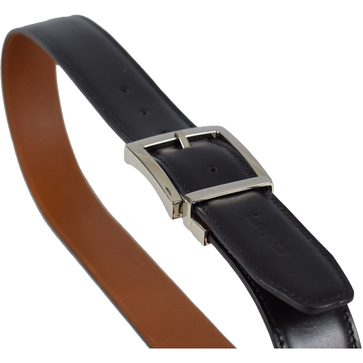 Reversible Belt, Belt | LAND Leather