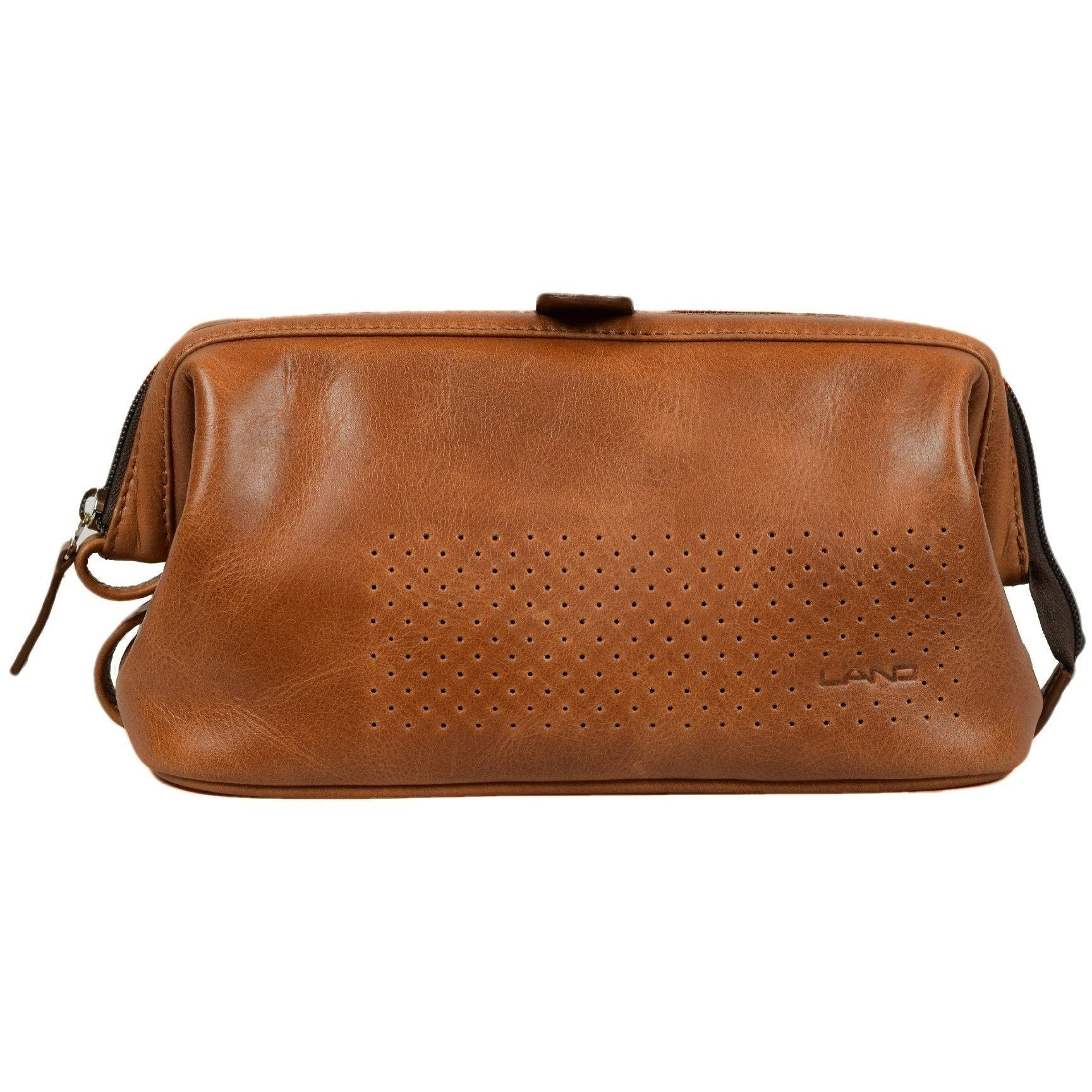 DuPont Dopp Kit, Toiletry Bag | LAND Leather