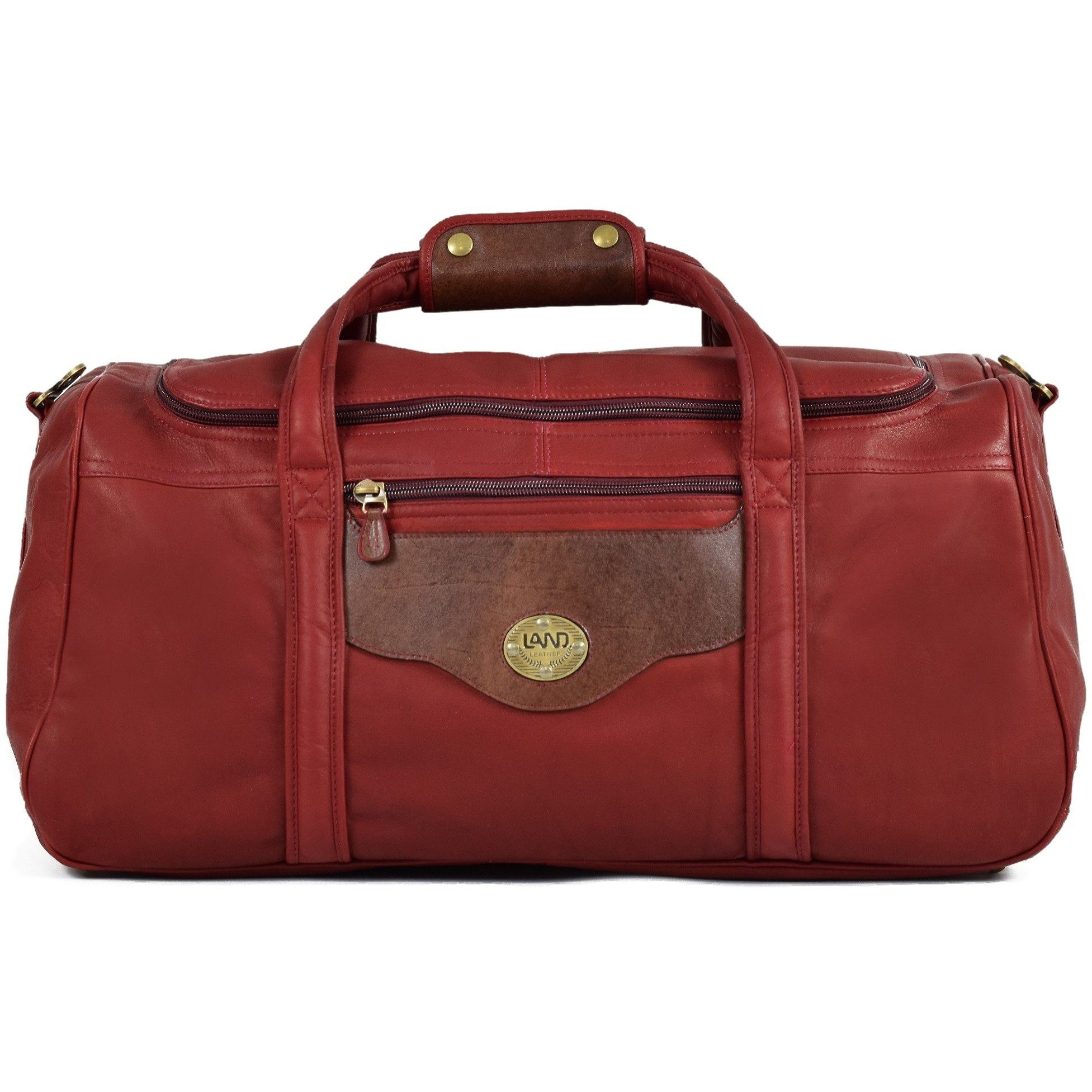 Anniversary San Fran Duffel Bag, Duffel Bag | LAND Leather