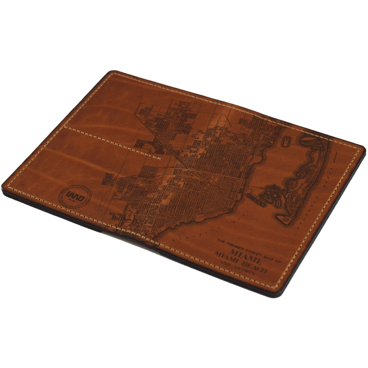 Atlas Passport Wallet, Passport Case | LAND Leather