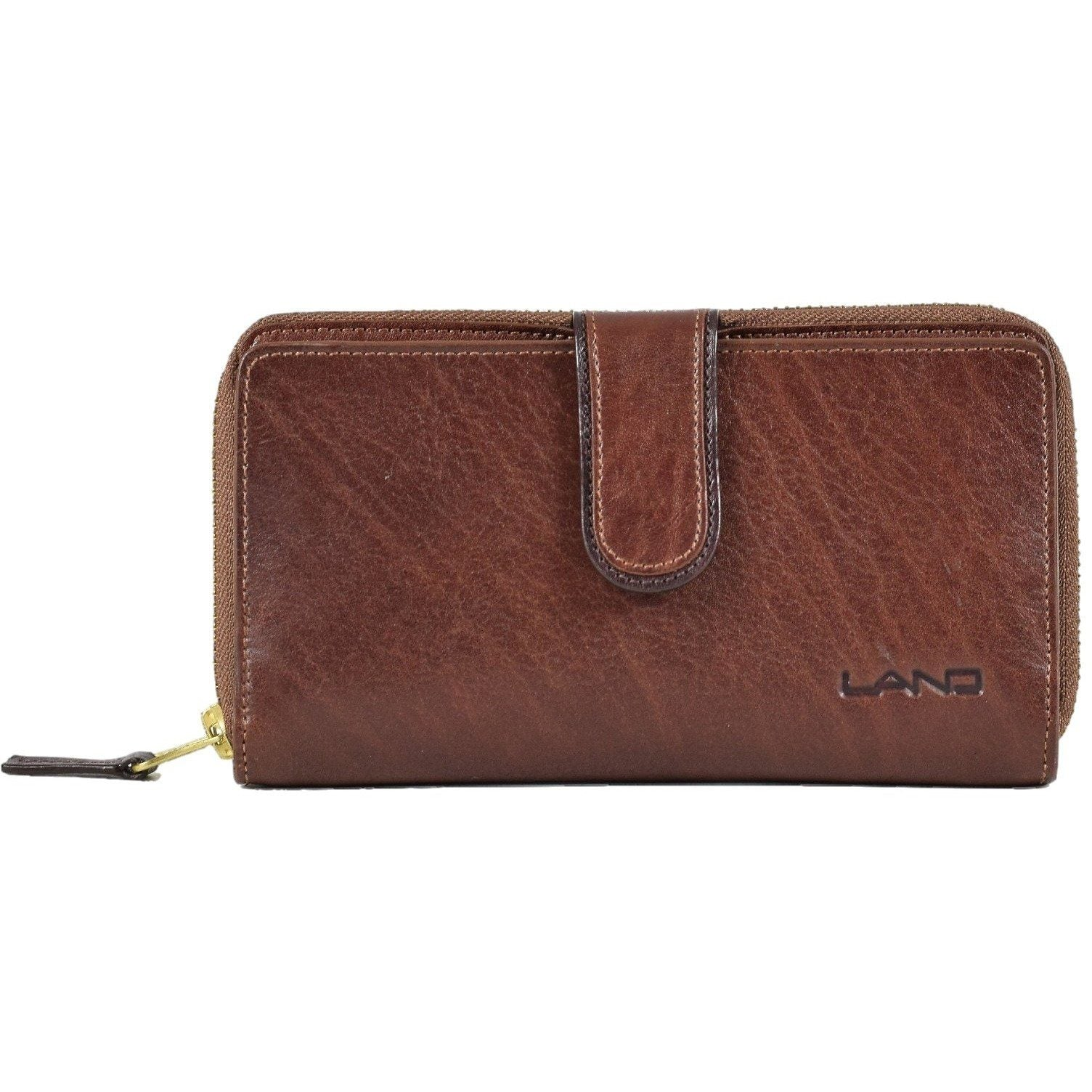 Limited Melissa Zip Around, Wallet | LAND Leather