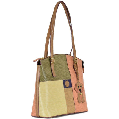 Longrain Jasmine Satchel, Handbag | LAND Leather