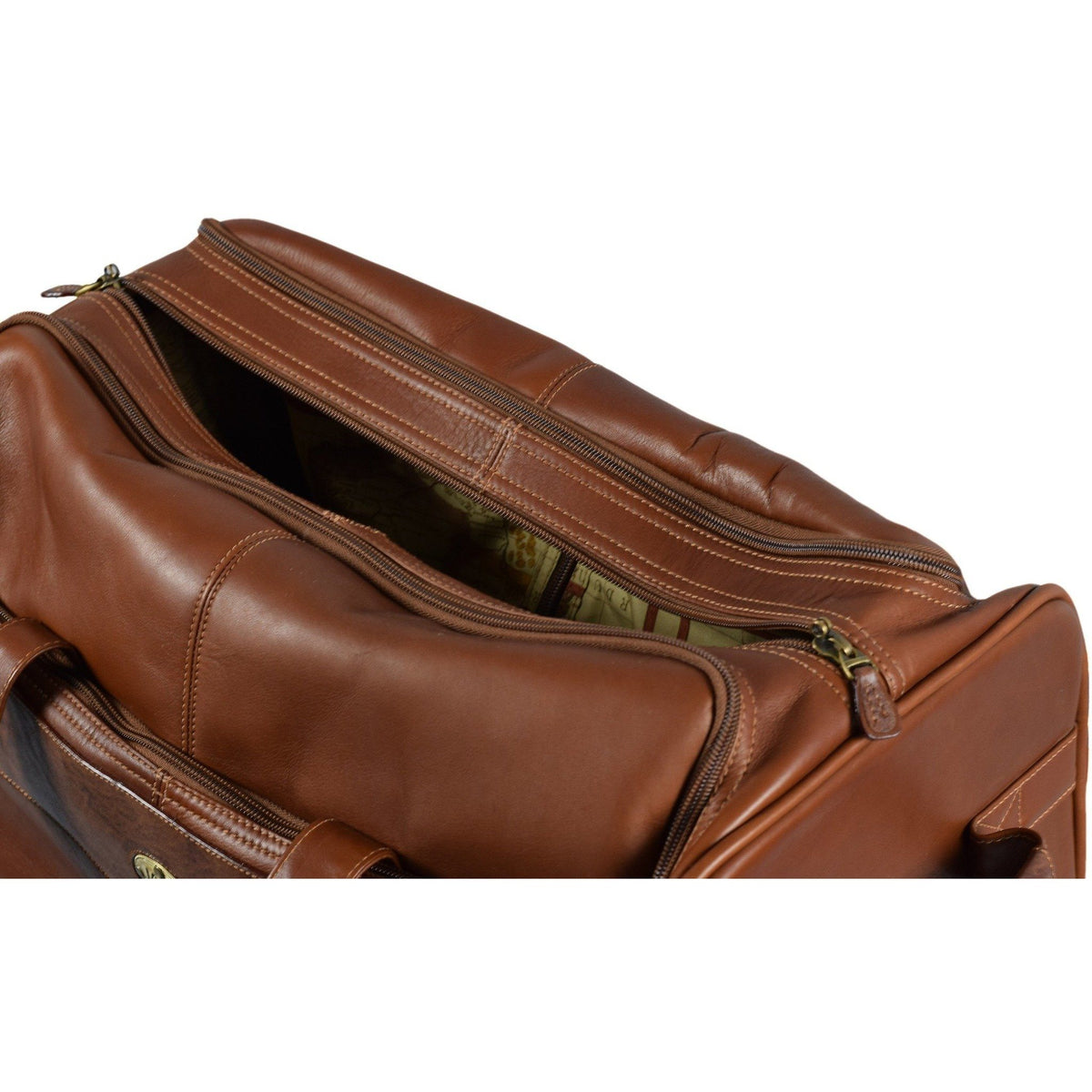 Santa Fe Rolling Garment Duffel Bag, Garment Bag | LAND Leather