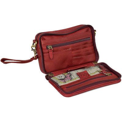 Anniversary Hybrid Travel Organizer, Travel Organizer | LAND Leather