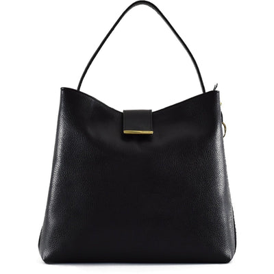 Bisenzio Emmanuelle Shoulder Bag, Handbag | LAND Leather