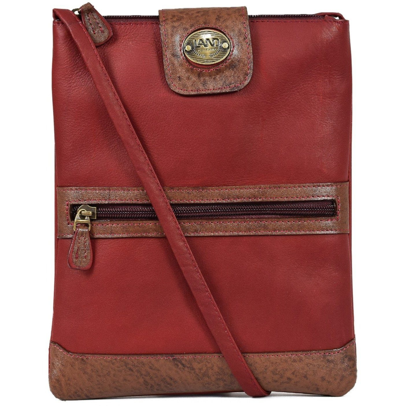 Anniversary Crossbody Hipster, Crossover Bag | LAND Leather