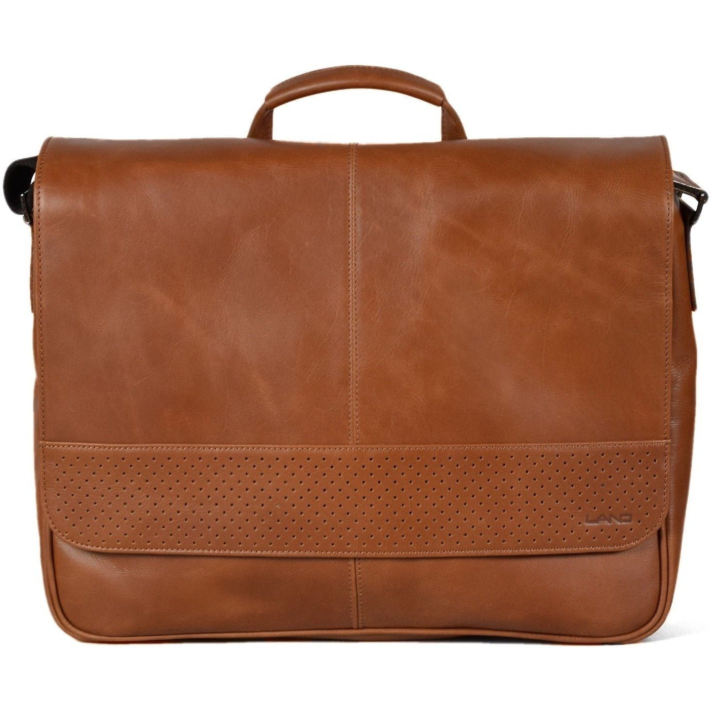 DuPont Logan Messenger, Crossover Bag | LAND Leather