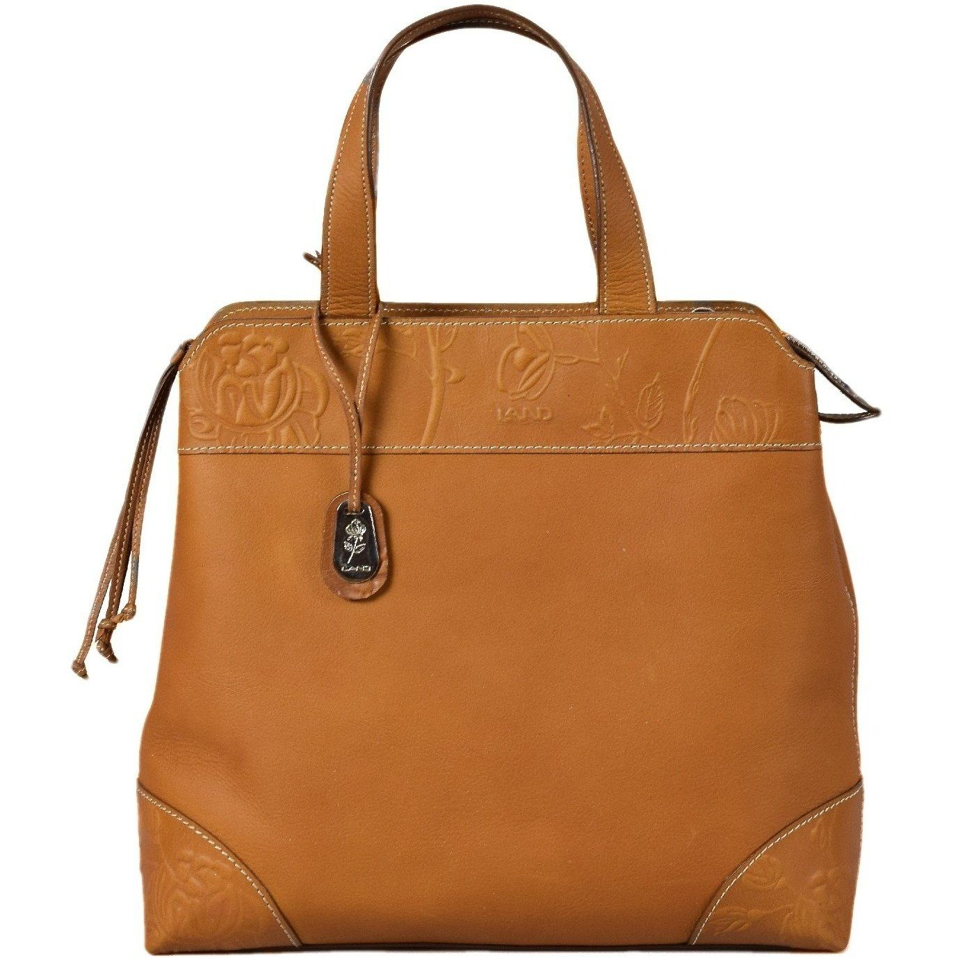 Magnolia Sofia Satchel, Handbag | LAND Leather