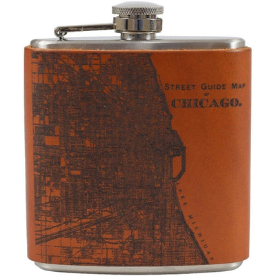 Atlas Flask, Flask | LAND Leather