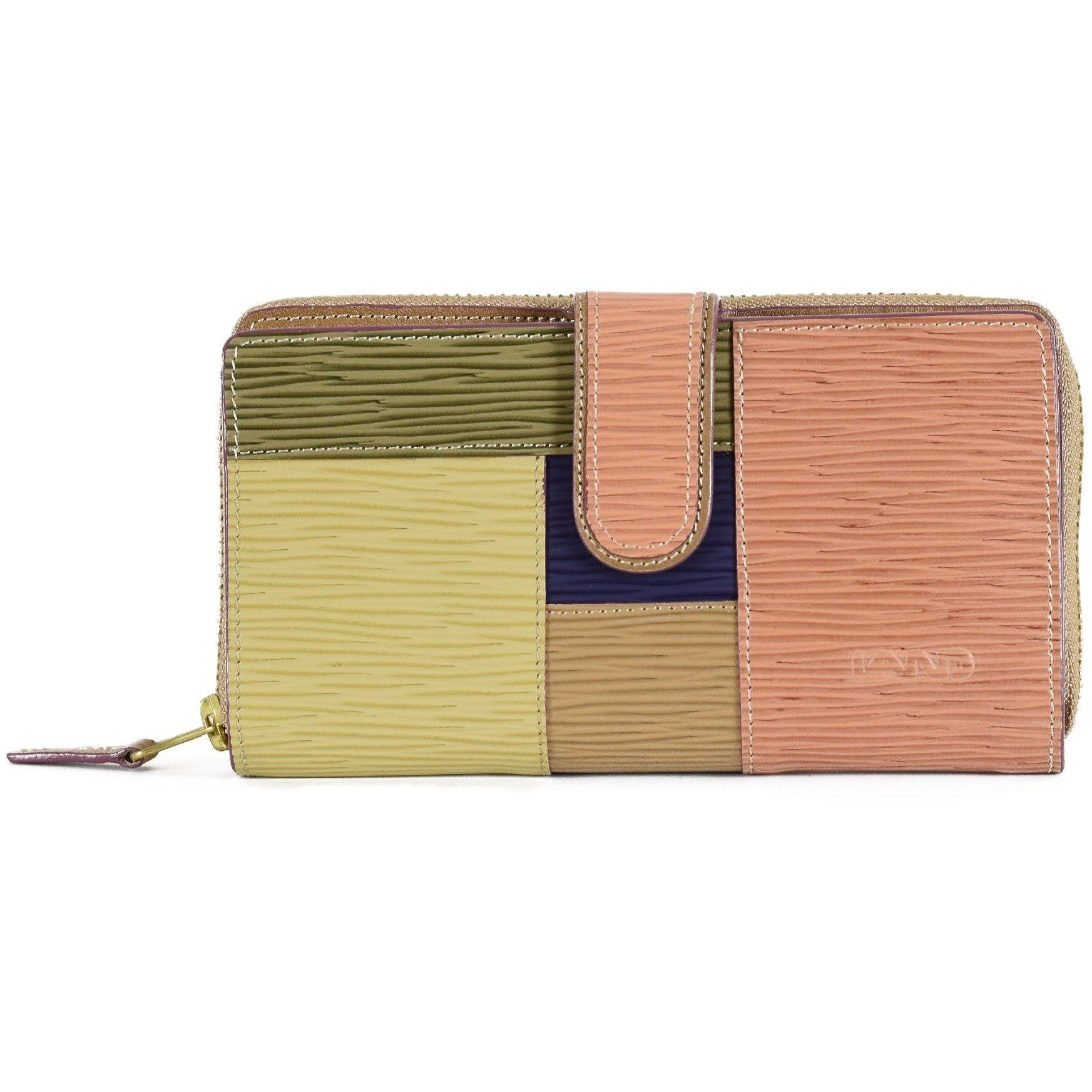 Longrain Melissa Zip Around, Wallet | LAND Leather