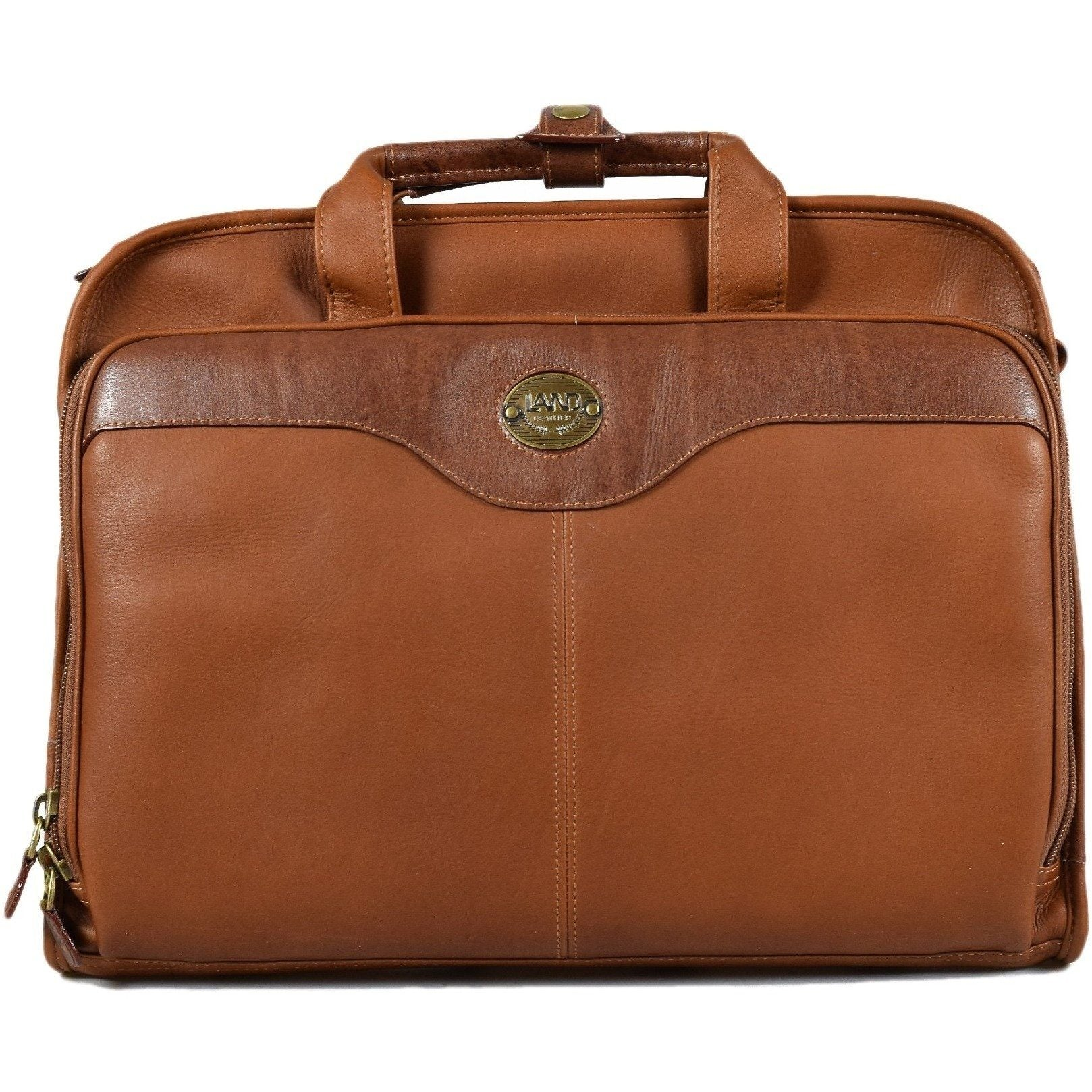Santa Fe Slim Day Brief, Briefcase | LAND Leather