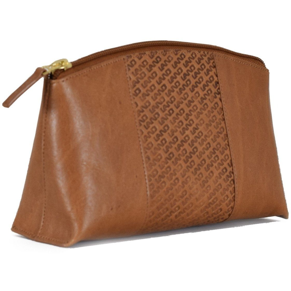 Limited Cosmetic Pouch With Mirror, Cosmetic Pouch | LAND Leather
