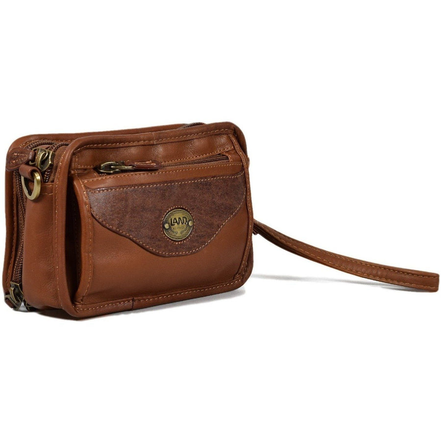 Sedona Wristlet Travel Organizer, Travel Organizer | LAND Leather