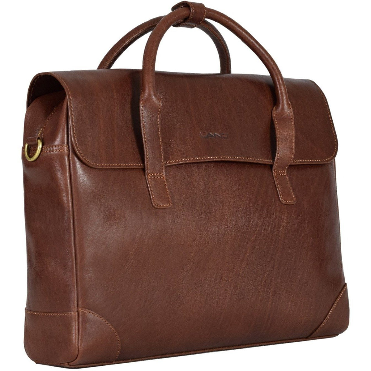 Limited Manhattan Flap Brief, Briefcase | LAND Leather